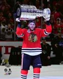 Patrick Kane with the Stanley Cup Game 6 of the 2015 NHL Stanley Cup Finals Photo