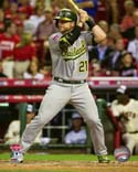 Stephen Vogt 2015 All-Star Game Action Photo