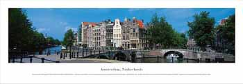 Amsterdam, Netherlands Panoramic Print
