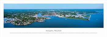 Annapolis, Maryland Panoramic Print