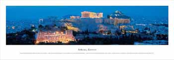 Athens, Greece Panoramic Print