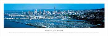 Auckland, New Zealand Panoramic Print