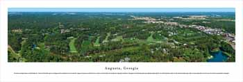 Augusta Skyline Panoramic Picture, Georgia