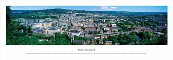 Bath, England Panoramic Print