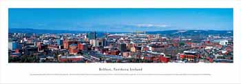 Belfast, Northern Ireland Panoramic Print