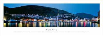 Bergen, Norway Panoramic Print