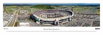 Briston Motor Speedway (Day) Panoramic Print