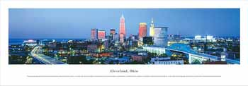Cleveland, Ohio Panoramic Print