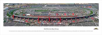 California Speedway Panoramic Print
