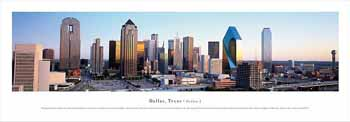 Dallas, Texas-Series 2 Panoramic Print
