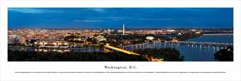 Washington, Dc Panoramic Print