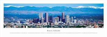 Denver, Colorado Panoramic Print