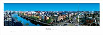 Dublin, Ireland Panoramic Print