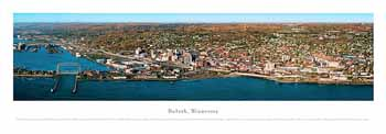 Duluth, Mn Panoramic Print