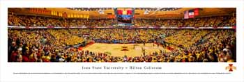 Iowa State Cyclones Panorama - Hilton Coliseum Panoramic Picture