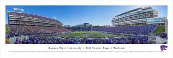 Kansas State Wildcats Panoramic Picture - Bill Snyder Family Stadium
