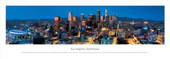 Los Angeles, California Panoramic Print