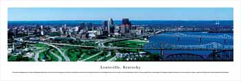 Louisville, KY #1 (Day) Panoramic Print