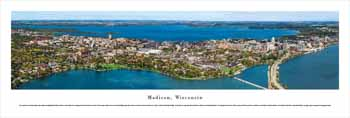 Madison, WI #2 (Fall Day) Panoramic Print