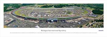 Michigan International Speedway Panoramic Print