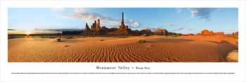 Monument Valley #2 (Totem Pole) Panoramic Print