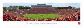 North Carolina State Wolfpack Panoramic Picture