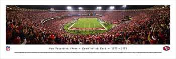 San Francisco 49ers Panoramic - Candlestick Park Panoramic