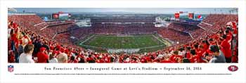 San Francisco 49ers Panoramic - Levi's Stadium Picture