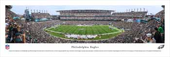 Philadelphia Eagles Panoramic Picture