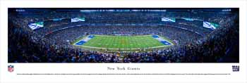 New York Giants Panoramic Picture - MetLife Stadium Panorama