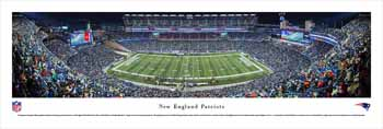 New England Patriots Panoramic - Gilette Stadium Picture