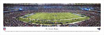 St. Louis Rams Panoramic - Edward Jones Dome Picture