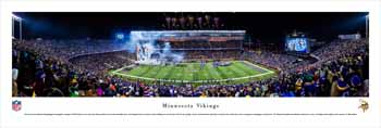Minnesota Vikings Panoramic Picture - TCF Bank Stadium Panorama