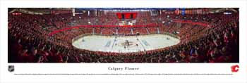 Calgary Flames Panoramic - Scotiabank Saddledome Picture