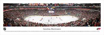 Carolina Hurricanes Panoramic - PNC Arena Picture