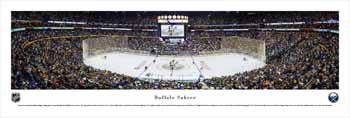 Buffalo Sabres Panoramic Picture - First Niagara Center Panorama
