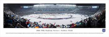 2014 Stadium Series Panoramic Picture - Chicago Blackhawks