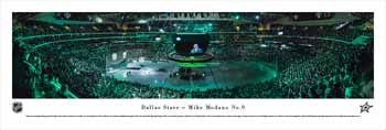 Dallas Stars Panoramic - Mike Modano Picture