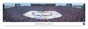 2014 Winter Classic Panoramic - The Big House - Detroit Red Wings