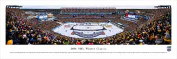 2016 Winter Classic Panoramic Picture - Gillette Stadium Panorama - Boston Bruins