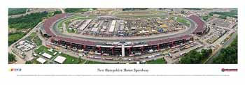 New Hampshire Motor Speedway Panoramic Print
