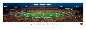 Oregon State Beavers Panoramic Picture - Reser Stadium Panorama