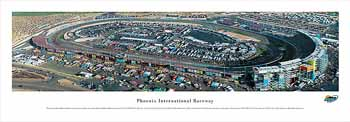 Phoenix International Raceway Panoramic Print