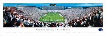 Penn State Nittany Lions Panorama - Beaver Stadium Picture