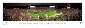 2015 Rose Bowl Panoramic - Oregon Ducks