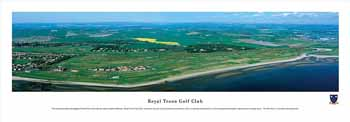 Royal Troon Panoramic Print
