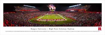 Rutgers Scarlet Knights Panoramic Picture - High Point Solutions Stadium