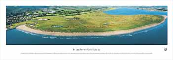 St Andrews Links Panoramic Print