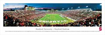 Stanford Cardinal Panoramic - Stanford Stadium Picture