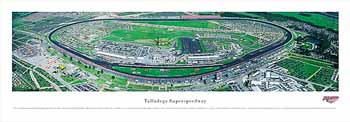 Talladega Superspeedway Panoramic Print